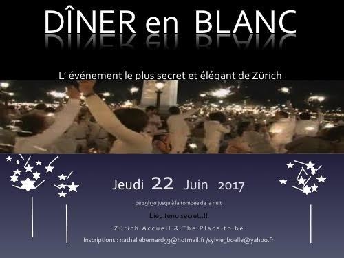 Dîner Blanc par Zürich Accueil