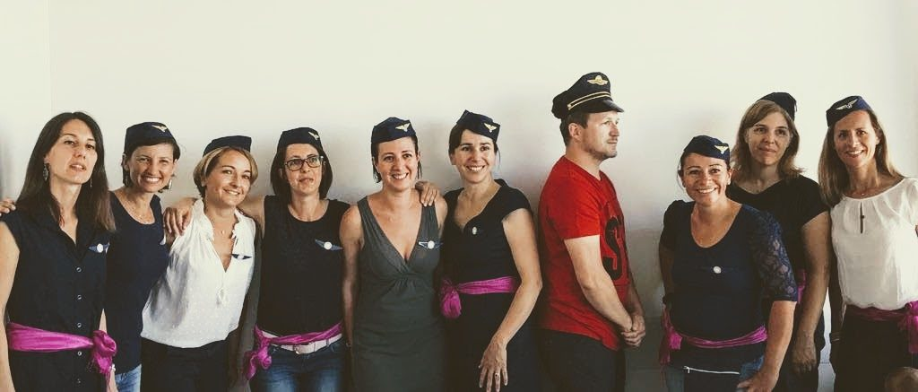 L'équipage Air Amicale 2017